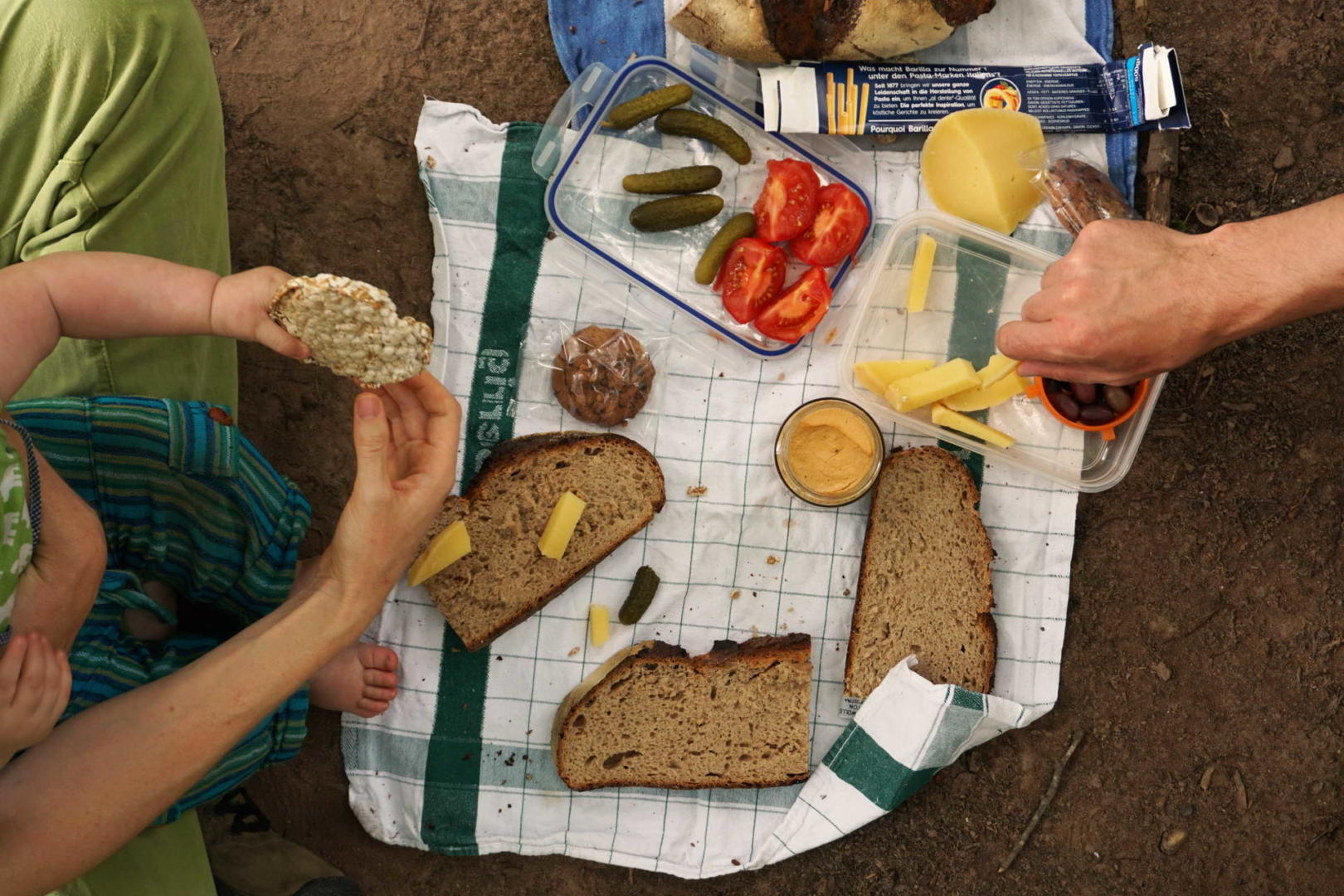 Picknick Wald