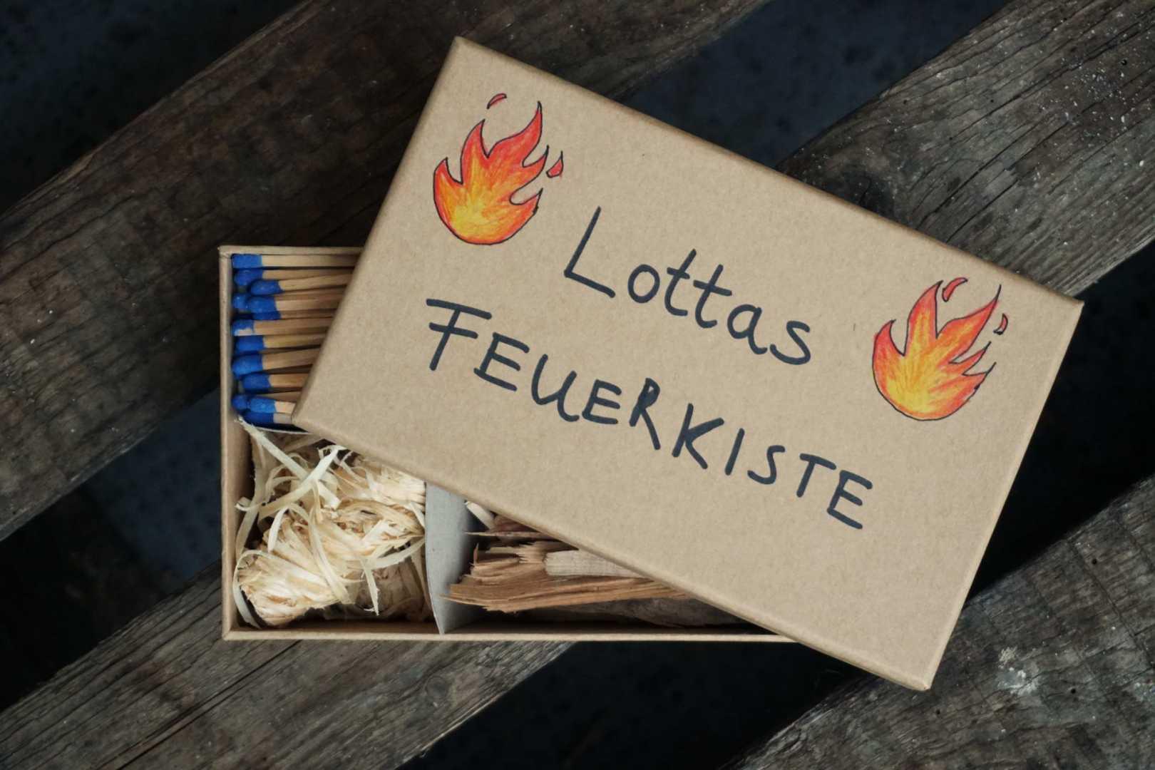 Lottas Feuerkiste Geschenk