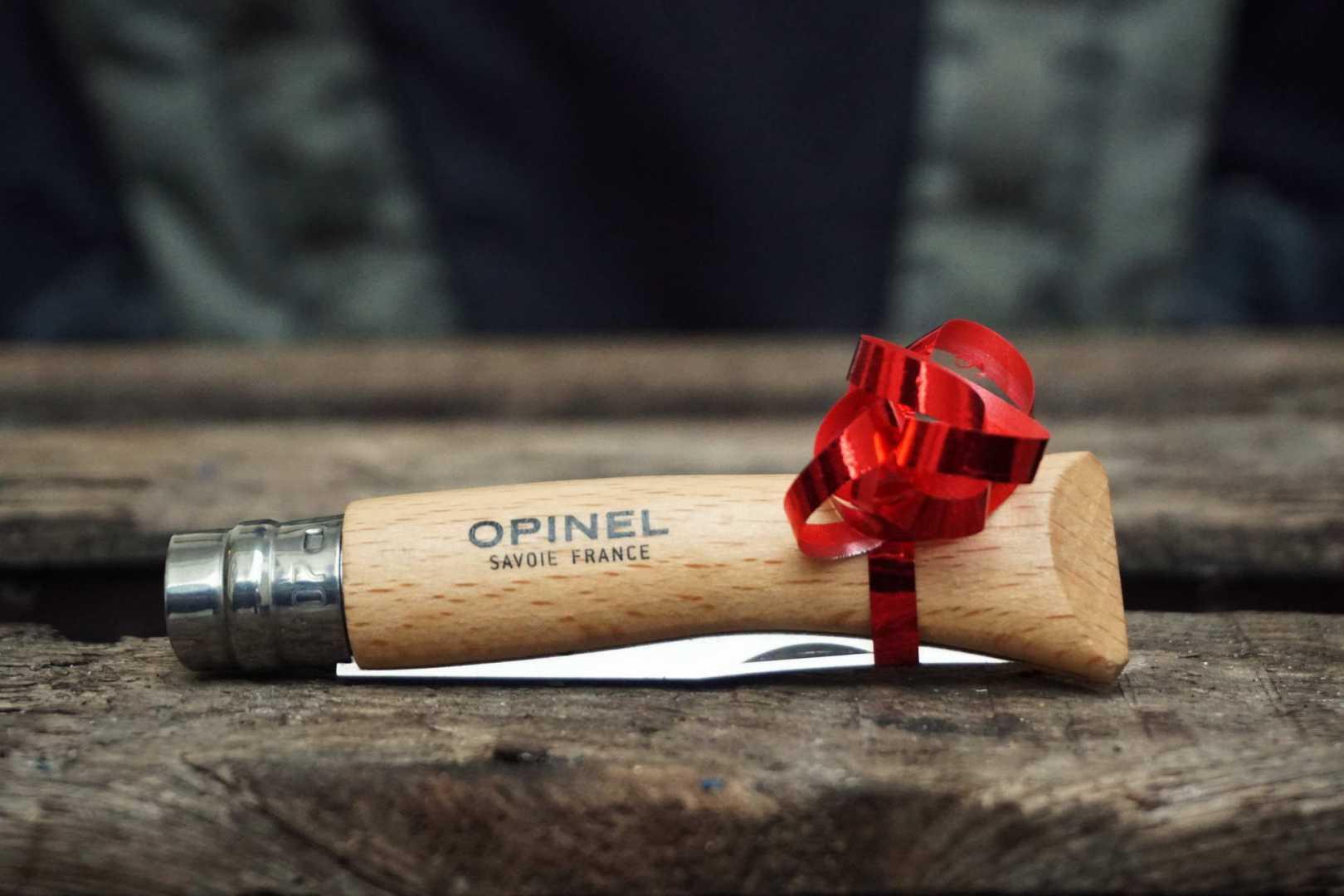 Opinel Messer mit Schleife