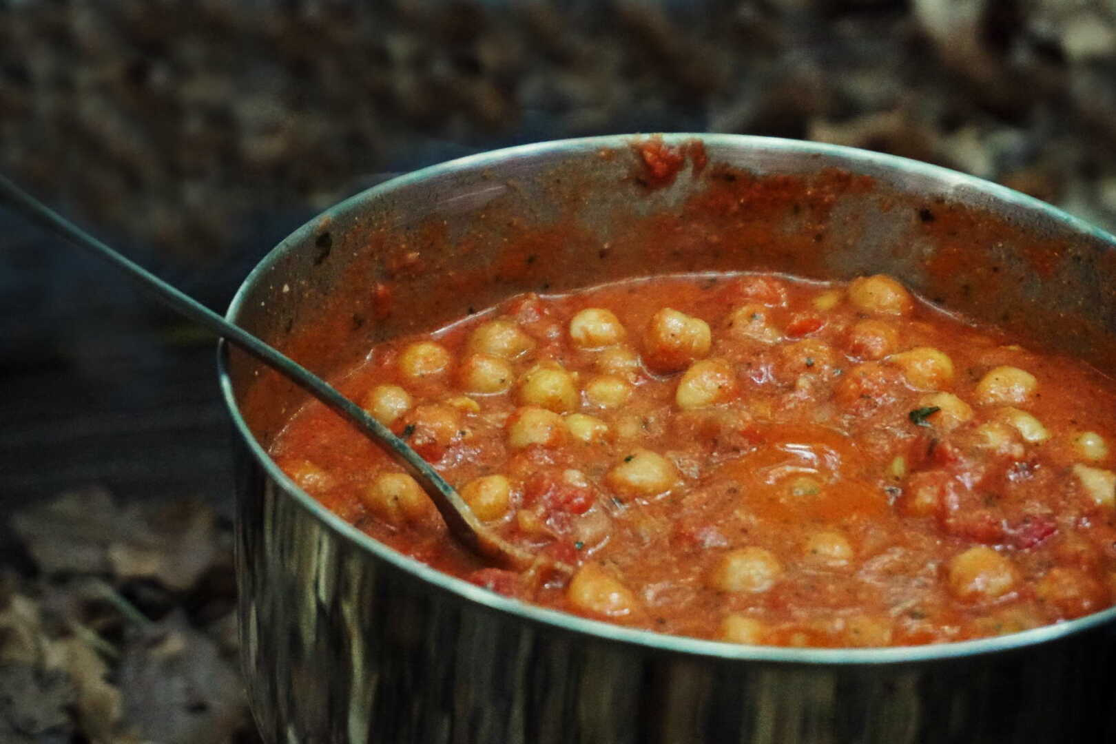 Kichererbsen Curry outdoor