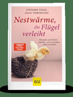 """""""Nestwärme, die Flügel verleiht"""" Buchcover"""