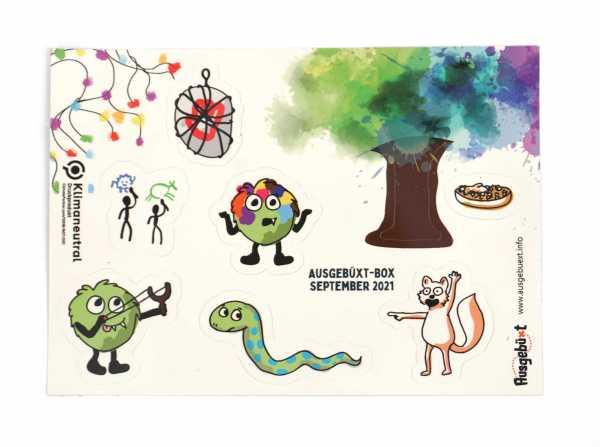 Ausgebüxt-Post-Stickerbogen-September-2